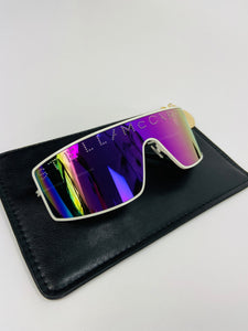 Stella McCartney Sunglasses spacy purple rhinestone