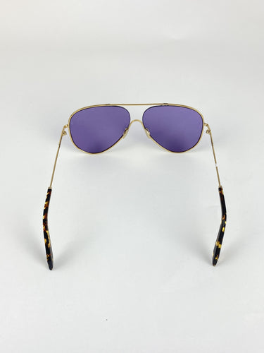 Victoria Beckham Pilot Sunglasses purple