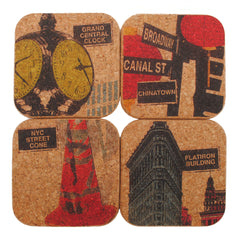 "coasters. ""nyc icons"""