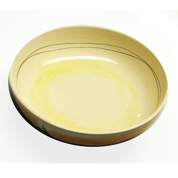 """modern"" low bowl - inside"