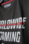 WORLD WIDE GAMING T-SHIRT schwarz