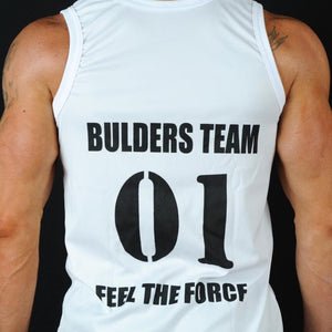 Tank Top Bulders Team Blanc