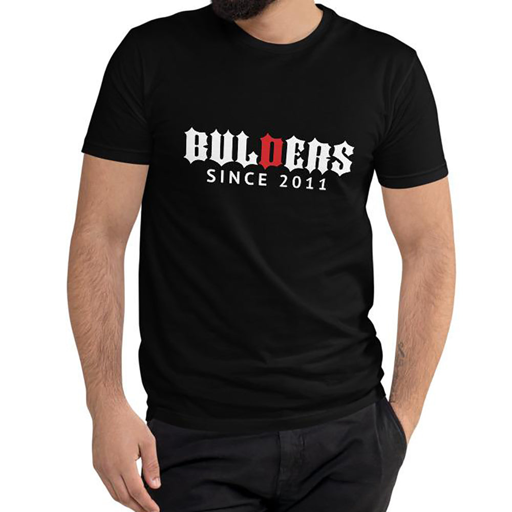Tee Shirt Bulders Since Black