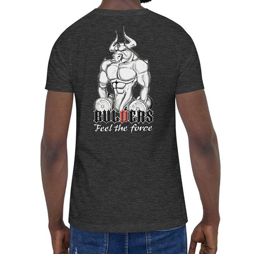 Tee Shirt Bullback Dumbell Dark Grey