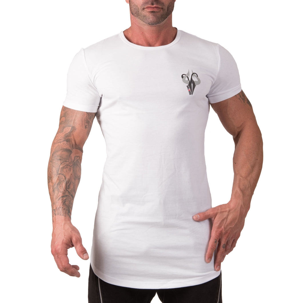 Tee Shirt Fish Tail Blanc