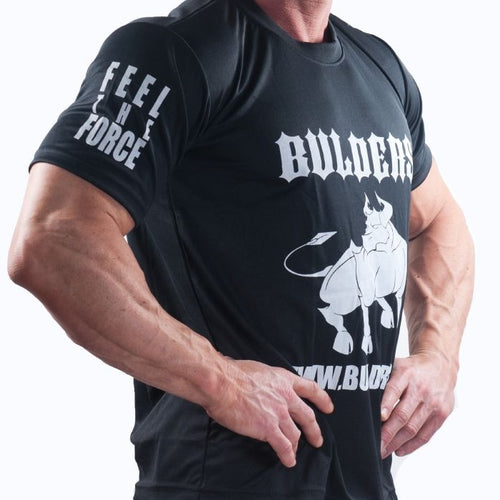 Tee Shirt Bulders Team Noir