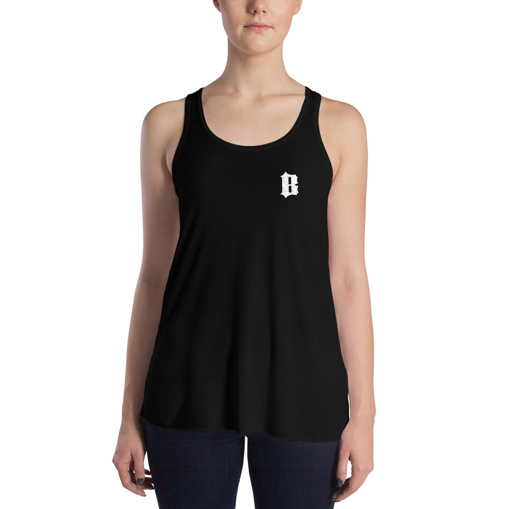 Tank Top Flowy B Black