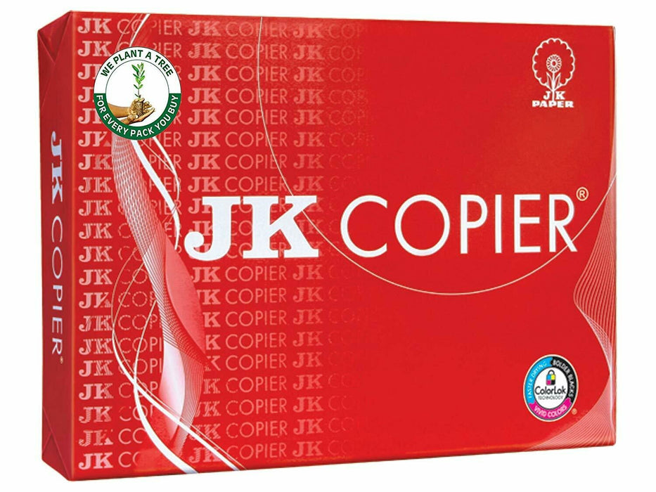 JK Paper 75GSM Copier Paper (Red) (10 Rim Single  Box)