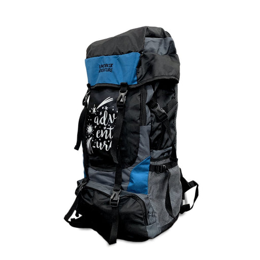 Adventure Hiking Bag 50 LTR (Blue) FREE RAIN COVER