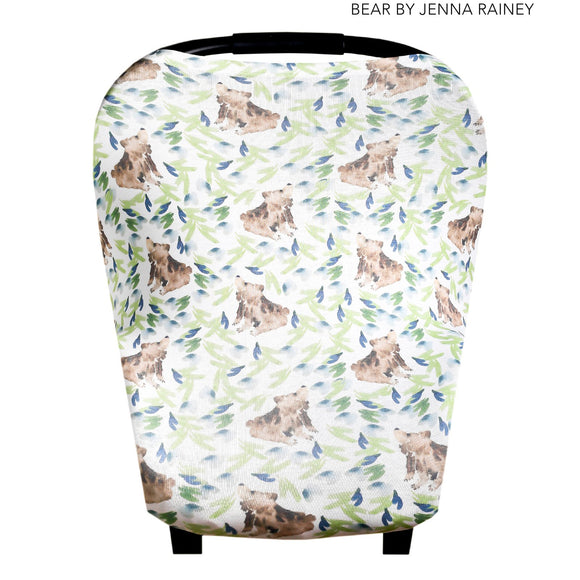 Bear 5-1 Breastfeeding/Carseat Cover