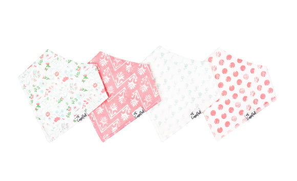 Claire 4 Pack Bib Set