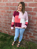 The Coco Colorblock Sweater
