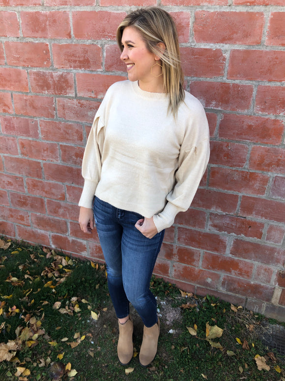 The Bell Sleeve Sweater - 3 Colors
