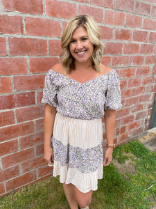 The Lavender Olivia Dress