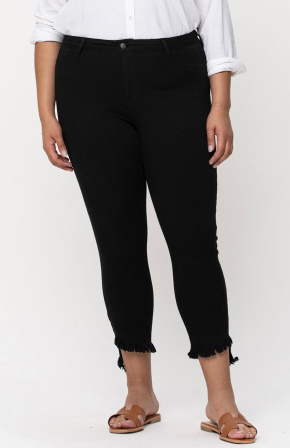 Take Me Out Black Jeans - Curvy