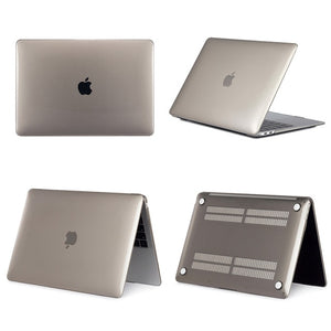 Laptop Case For Apple MacBook Air 13 A1369 A1466 Pro Retina 11 12 13 15 Touch Bar for macbook New Air 13 A1932 + Keyboard Cover
