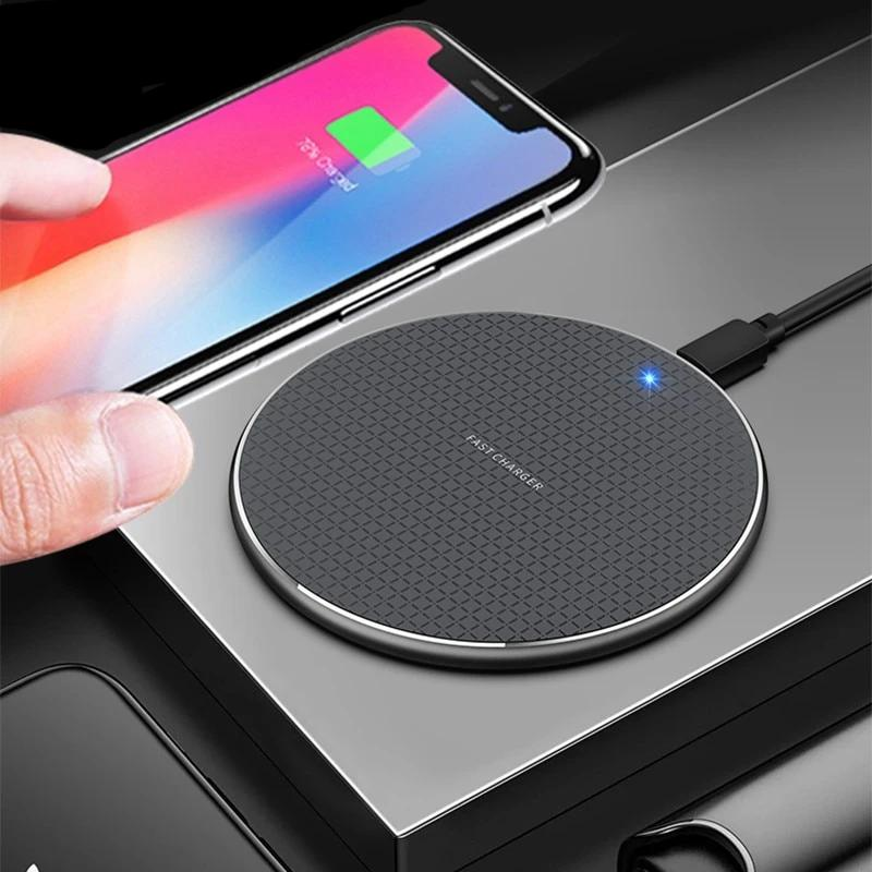 Fast Charger For Blackview BV6800 Pro BV5800 pro BV9500 BV9600 Pro Qi Wireless Charger Charging Pad Power Case Phone Accessory