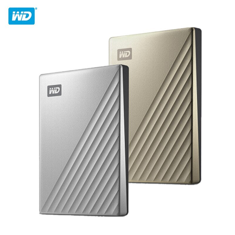 "Original WD 4TB 2TB 1TB External Hard Drive HDD 2.5"" Hard Disk Western Digital Type-C My Passport Ultra Encryption WD HDD"