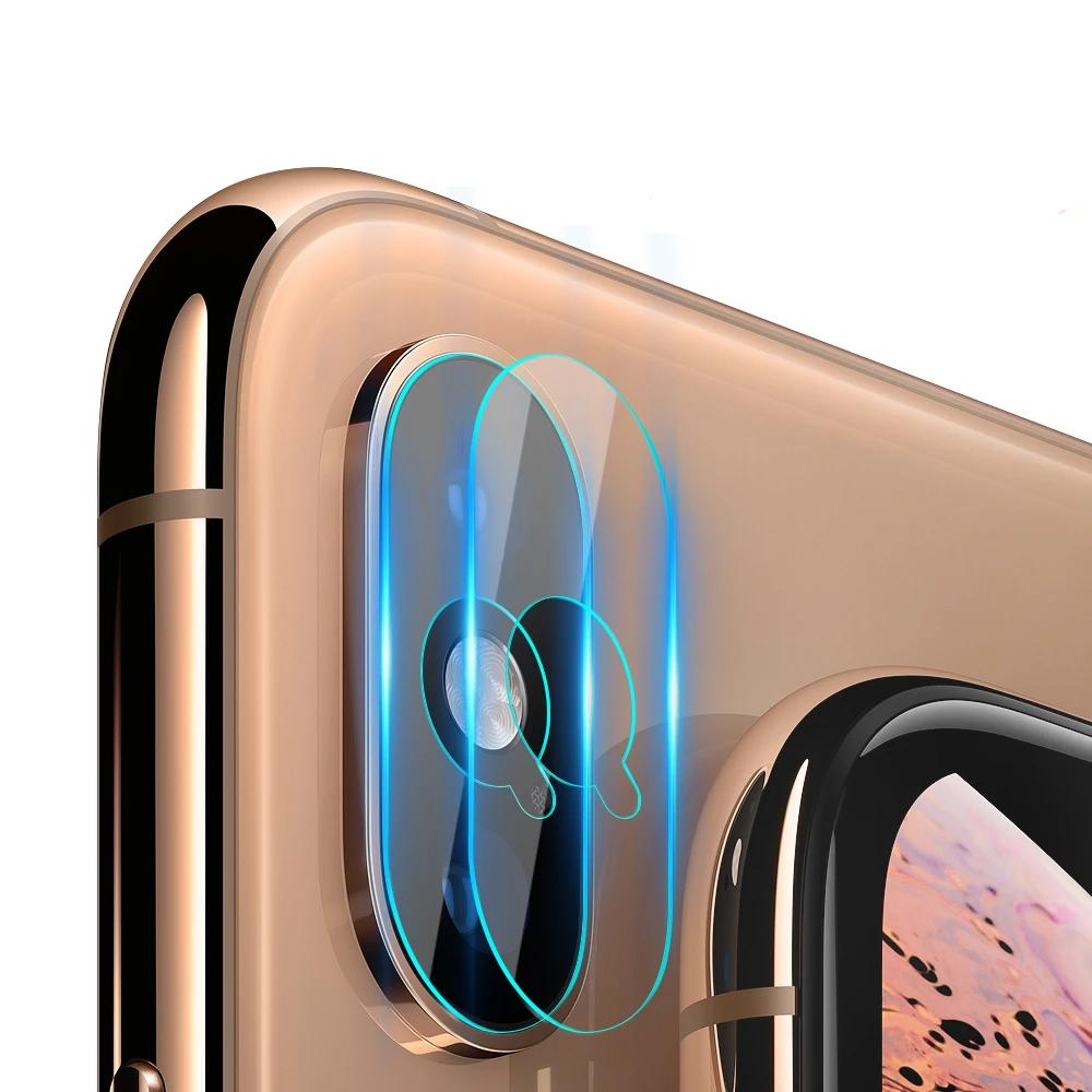 Camera Lens Film For iPhone X XS Max XR Tempered Glass Screen Protector Protective Glass For iphone 6 6S 7 8 Plus Accessories