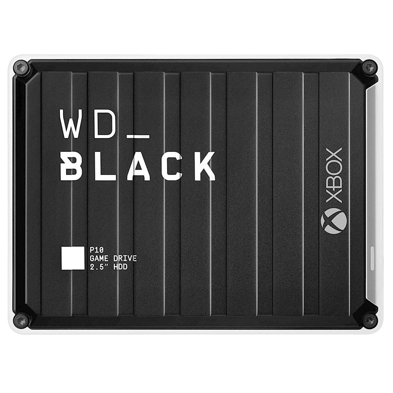 Western Digital P10 Game Drive for Xbox 2TB 4TB 5TB P10 Game Drive, Compatible with PS4, One, PC, Mac External Hard Disk