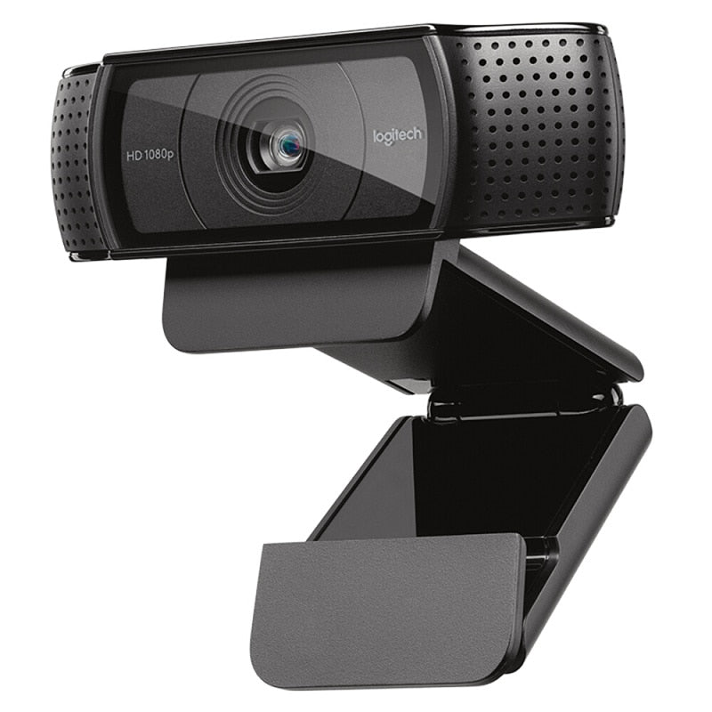 Logitech HD Pro Webcam C920e, Widescreen Video Calling and Recording,1080p Camera, Desktop or Laptop Webcam,C920 upgrade version