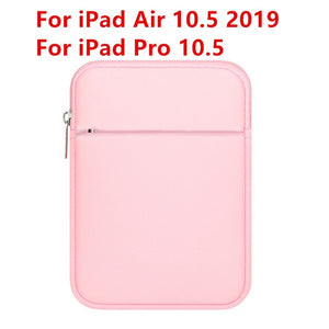 For iPad 9.7 2018 Case Tablet Sleeve Pouch Bag for iPad Air 2/1 Pro 10.5 Pro 11 Mini 4 Cover for iPad Air 10.5 10.2 2019 Coque