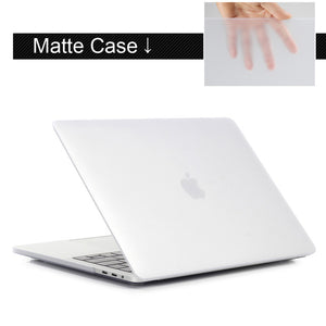 high quality laptop Case For Apple macbook Air Pro Retina 11 12 13 15 16 For Mac book 13 16 inch with Touch Bar + Keyboard cover