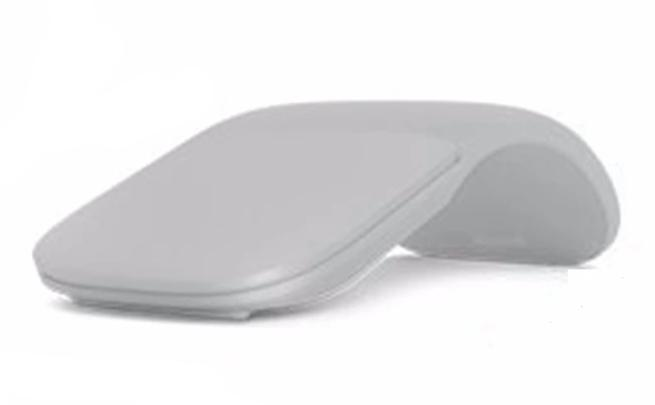 Bluetooth Wireless Arc Touch Mouse Silent Ergonomic Folding Computer Mouse Small Portable Noiseless Mice For Apple PC Microsoft