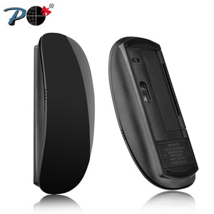 P 823 Wireless Touch Computer Mouse For Apple Macbook Ergonomic Silent Optical Usb Mause 3d Slim Magic PC Mice 2.4G For Laptop