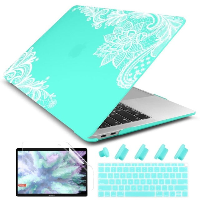 Crystal Case For Apple MacBook Air 13.3 11 Pro 13 12 15 +