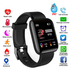 Waterproof Bluetooth Wristband Fitness  Smart Watch