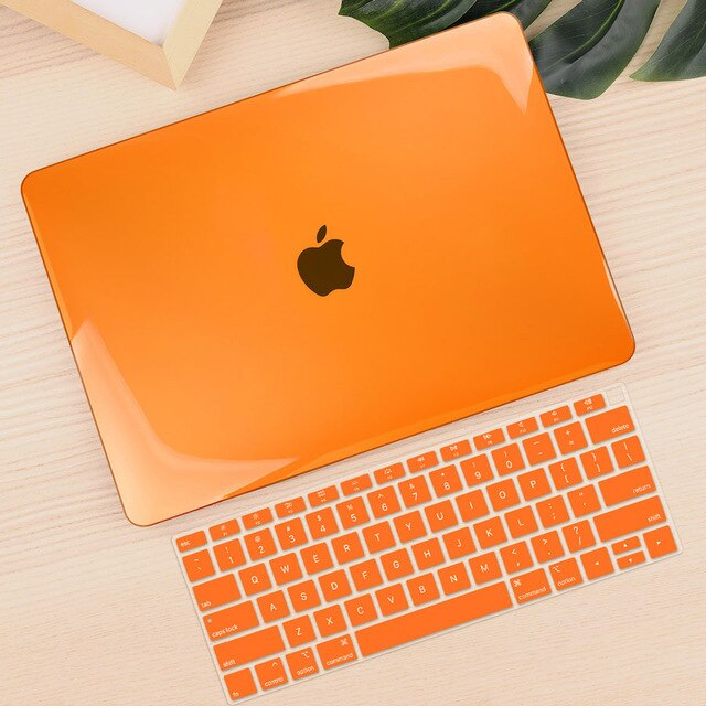 Crystal Transparent Hard Case For Apple Macbook Air Pro Retina 11 12 13 15 16 For New Air 13 inch Laptop Case Keyboard Cover