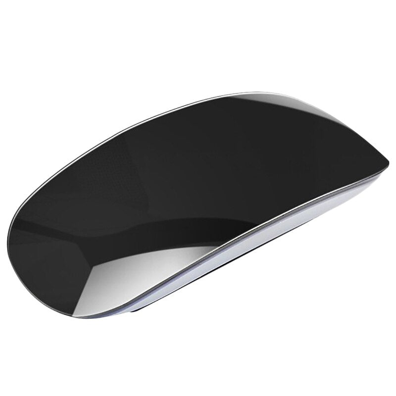 Bluetooth Press Mouse Wireless Ergonomic Slim Arc Magic Mouse Optical Ultra-Thin Mice For Apple Mac Pc Laptop