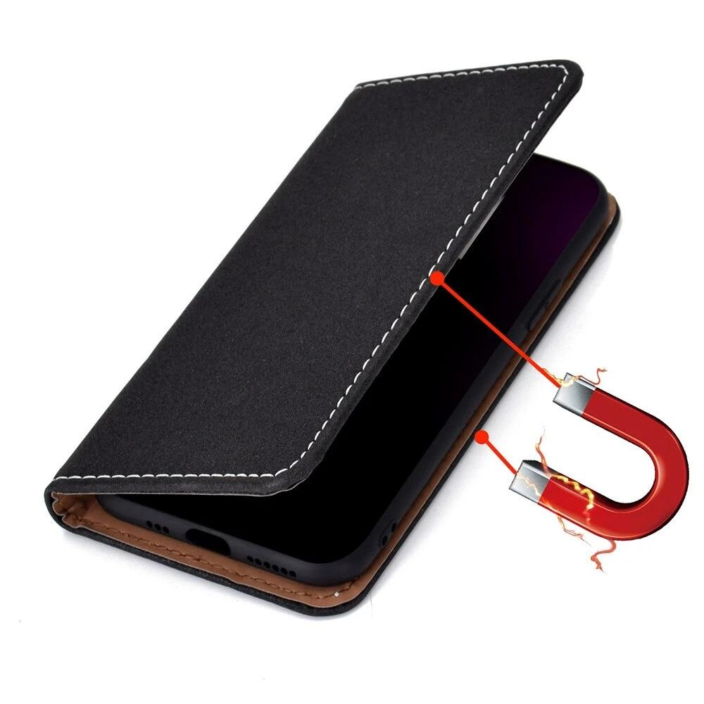 KISSCASE Leather Phone Case For 11Pro MAX XR X Flip Wallet Case for iPhone 7 8 6 6s Plus Magnetic Capa for iPhone 11 XS MAX Bag