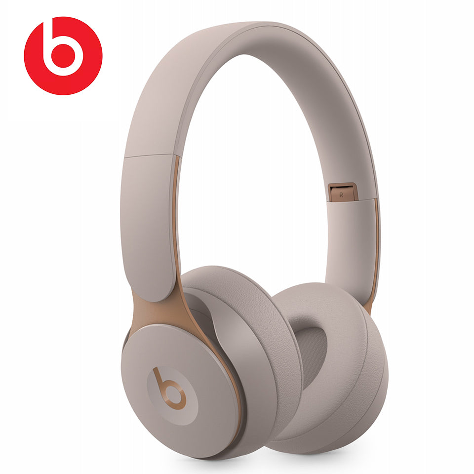 Beats Solo Pro Wireless Bluetooth ANC Headphones Portable Gaming Sport Noise Cancelling Headset Foldable Earphone Handsfree Mic
