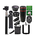 10 in 1 Camera Lens Travel Kit For iPhone X 6 7 8