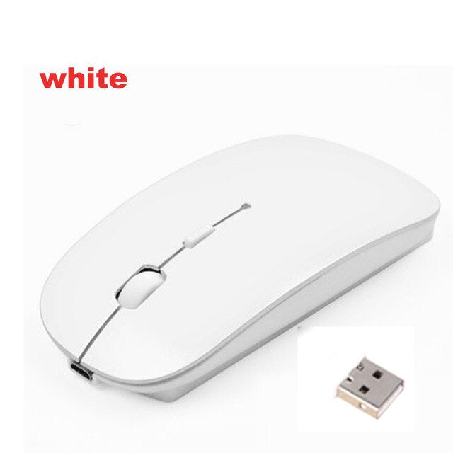 Wireless Laptop Tablet Mouse for Computer Android Tablets Windows PC Rechargeable Usb Mouse for Macbook Acer Asus Lenovo Xiaomi