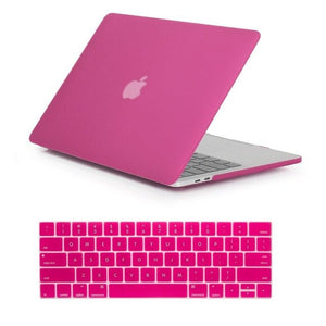 Case with Keyboard Cover for Apple MacBook Air Pro and Air Pro Retina