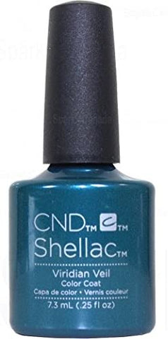 CND Shellac UV Gel Polish- Viridian Veil