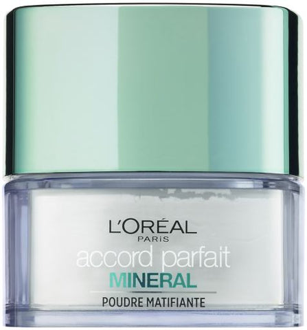 L'Oreal Paris Make Up Mineral Powders Accord Parfait 01 Mineral Transluscent
