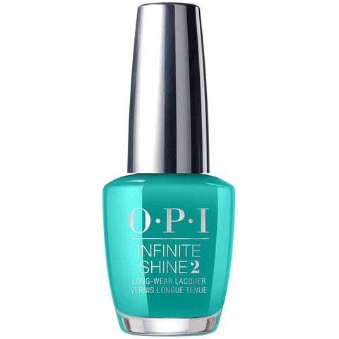 OPI Infinite Shine Nail Varnish Polish Dance Party Teal Dawn