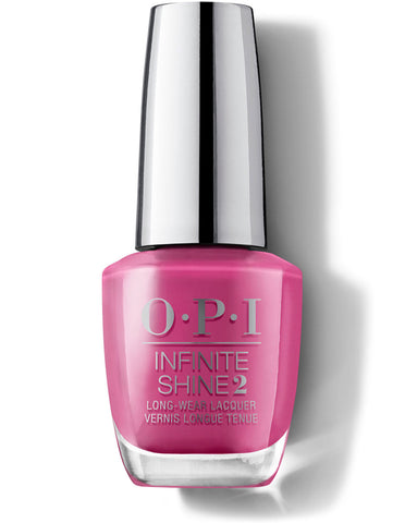 OPI Infinite Shine Nail Varnish Polish No Turning Back From Pink Street