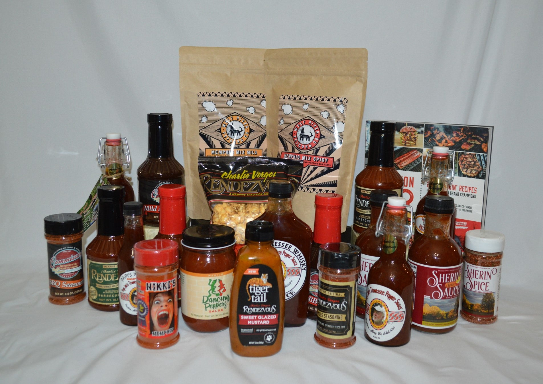 Super Memphis BBQ and Spice Gift Basket