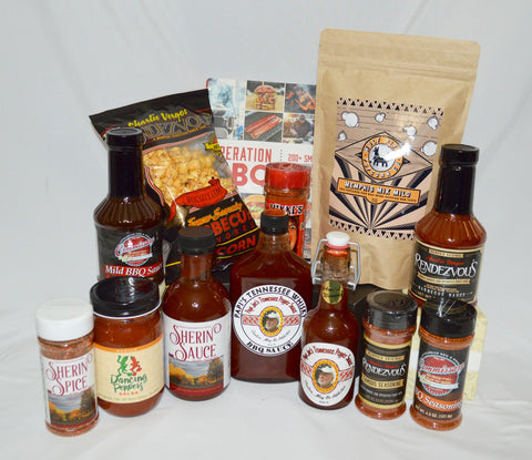 XL Memphis BBQ and Spice Gift Basket - Wild and Mild