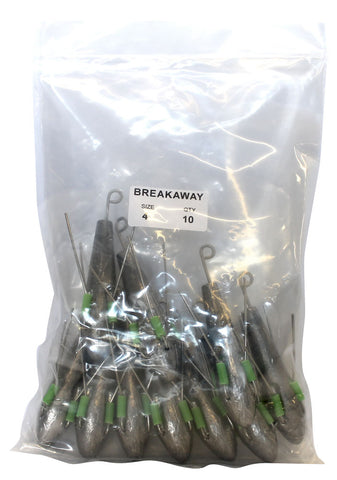 Breakaway Sinkers – Fishing and Leisure Group Limited