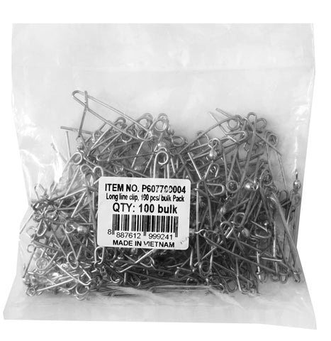 Pro Hunter Long Line Clip (100 piece bulk pack)