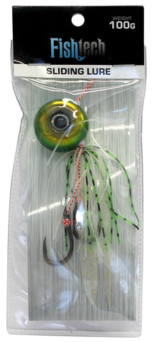 Fishtech 100g Slippery Slider Lure - Green