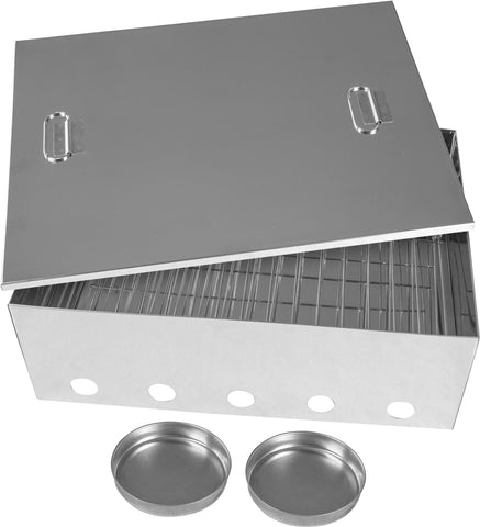 Kiwi Sizzler Large Stainless Steel Smoker