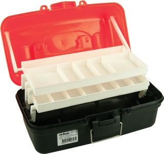 Pro Hunter Two Tray Tackle Box - Red
