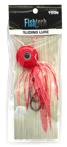 Fishtech 100g Slippery Slider Lure - Pink